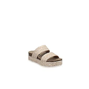 Aqua | Kimbo Raffia plattform slip-on sandaler