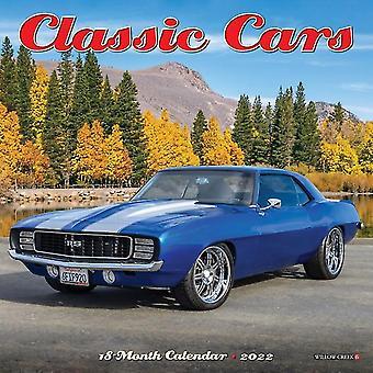 Classic Cars 2022 Mini Wall Calendar by Willow Creek Press