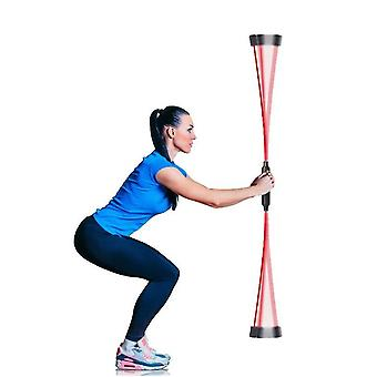 Fitness Elastic Bar Tremor Bar Fitness Training Tremor Bar (Rot)