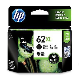 HP 62XL original black ink cartridge with high capacity, High (XL) yield, Pi