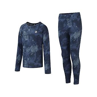 Dare2B Kids Partition Thermal Quick-Dry Top und Bottom Baselayer Set