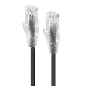 Alogic 3M Black Ultra Slim Cat6 Network Cable Utp 28Awg Series Alpha