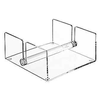 Modern duidelijk acryl keuken servet houder rack met center bar gewogen armen| Opslaghouders