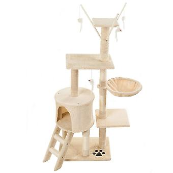 Cat Kitten Tree Play Tower House With Scratching Post And Ladders Condo