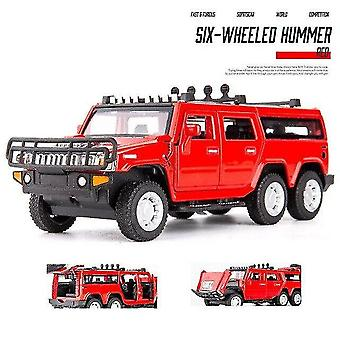 Toy cars 1:32 hummer car model alloy car die cast toy car model pull back children's toy collectibles
