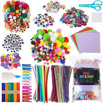 Arts And Crafts Supplies For Kids - Craft Art Supply Kit For Toddlers