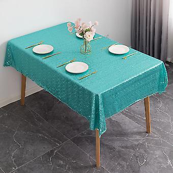 paljett glitter duk glitrende bord klut dekke bryllupsfest bankett dekor