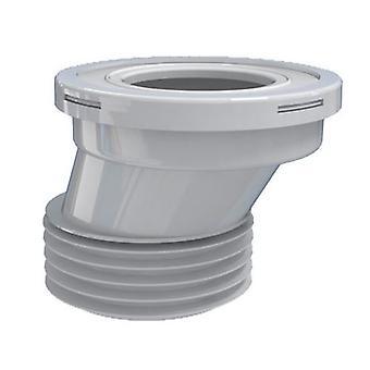 "110mm 4"" Servizi igienici WC Offset Pan rifiuti gomma connettore per servizi igienici padelle"
