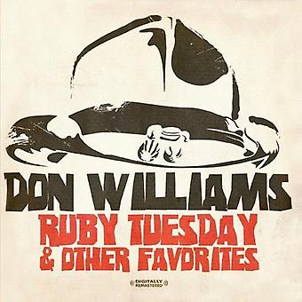 Don Williams - Ruby Dienstag & andere Favoriten [CD] USA import