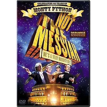 Not the Messiah [DVD] USA import