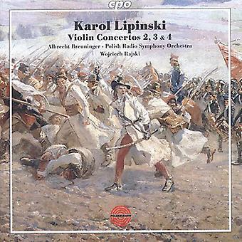 K. Lipinski - Karol Lipinski: Violin Concertos Nos. 2, 3 & 4 [CD] USA import