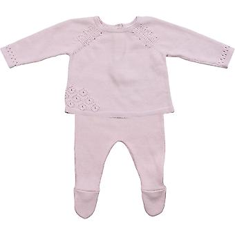 Angel Dear Lavender Pointelle 2 Piece (3-6 Months)