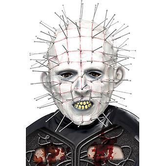 Maska hlavy Hellraiser hrůz tvář nehet původní