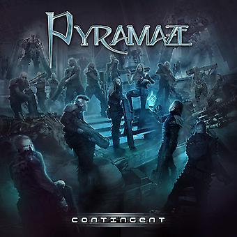 Pyramaze - Contingent [CD] USA import