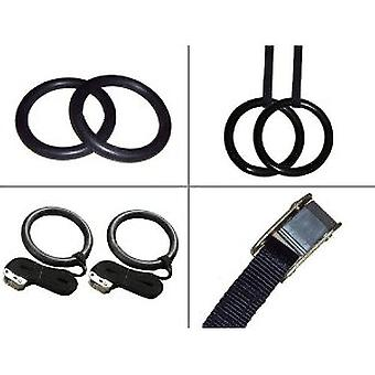 Kabalo Pair of Adjustable Olympic Gymnastic Crossfit Gym Strength Training Pull-Up Rings