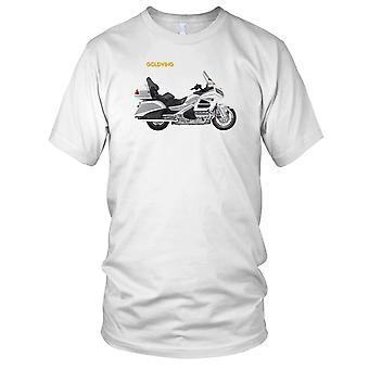 Honda Goldwing-legendäre Motorrad-Herren-T-Shirt