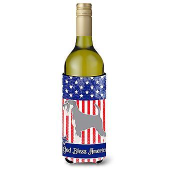 Schnauzer amerikanischen Weinflasche Beverge Isolator Hugger