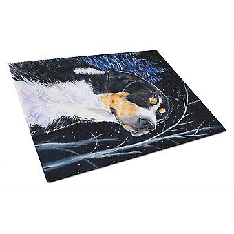 Carolines trésors SS8393LCB étoilé nuit Bernese Mountain Dog verre coupe B