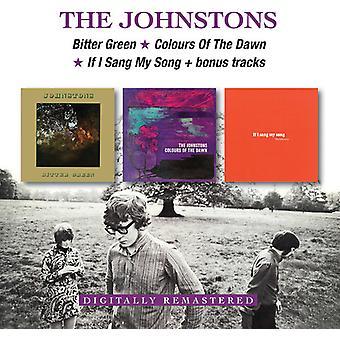 Johnstons - Bitter grün/Farben der Morgenröte / wenn ich Sang mein Lied + Bonus-Tracks [CD] USA importieren