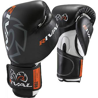 Rival Boxing Hook and Loop Super Bag Boxing Gloves - Black