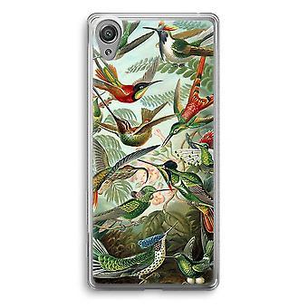 Sony Xperia XA1 przezroczyste etui (Soft) - Haeckel (Trochilidae)