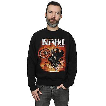 Bat Out Hell mäns Biker konst tröja