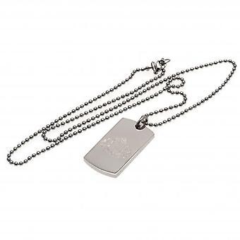 Sunderland Engraved Pendant & Chain DT