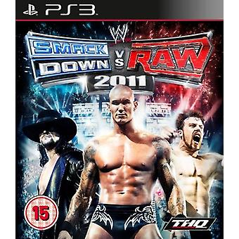 WWE Smackdown vs Raw 2011 (PS3) - Factory Sealed
