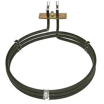 Zanussi Replacement Fan Oven Cooker Heating Element (2500w) (3 Turns)