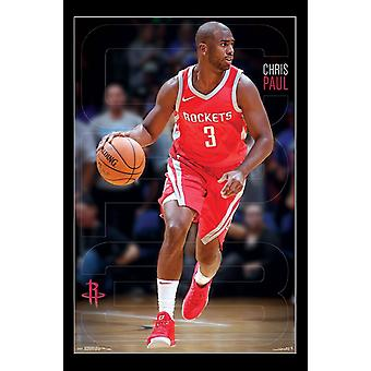 Houston Rockets - Chris Paul Poster afdrukken