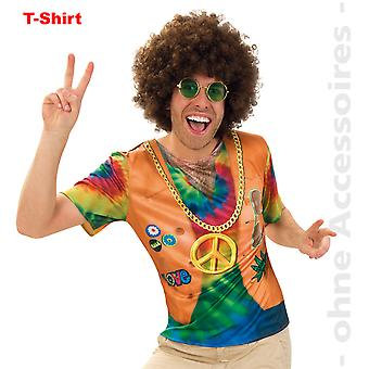 Mr costume hippie shirt hippie 60s JahreShirt flower power men's costume