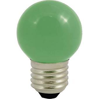 LightMe LM85252 LED (monochrome) E27 Droplet 0.5 W Green (Ø x L) 45 mm x 70 mm 1 pc(s)