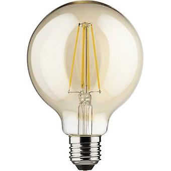 Müller Licht LED EEC A++ (A++ - E) E27 Globe 8 W = 66 W Gold (Ø x L) 95 mm x 140 mm dimmable, Filament 1 pc(s)