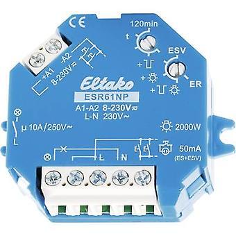 Impulse changeover switch Surface/flush mount Eltako ESR61NP 1 maker 230 V DC, 230 V AC 10 A 2000 W 1 pc(s)