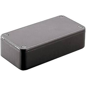 Hammond Electronics 1591CBK EU 121.44 x 66.94 x 37,25 Acrylnitril-Butadien-Styrol Black 1 -PC Gehäuse