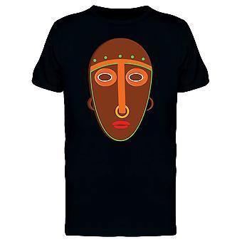 Afrikansk maske Doodle stil Tee mænds-billede af Shutterstock