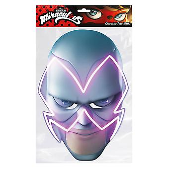 Hawk Moth from Miraculous Single 2D Card Party Face Mask