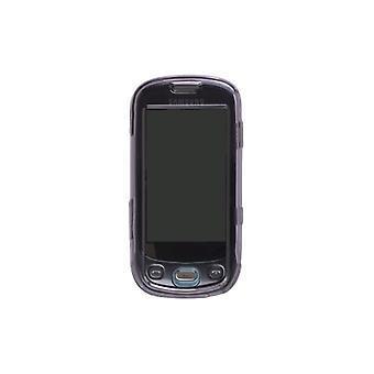 Pack 5 - cas des Solutions sans fil avec Clip ceinture pour Samsung SGH-T749 - fumée