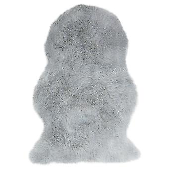 Auckland Luxury Faux Sheepskins In Silver