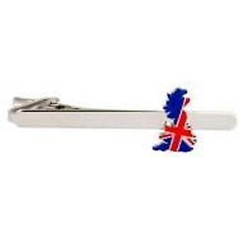 David Van Hagen United Kingdom Tie Clip - Blue/Red/White