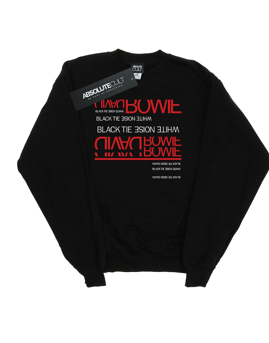 David Bowie Girls Black Tie White Noise Sweatshirt