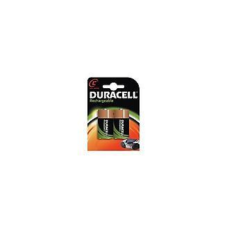 Duracell C-HR14 2 stykker, genopladelige