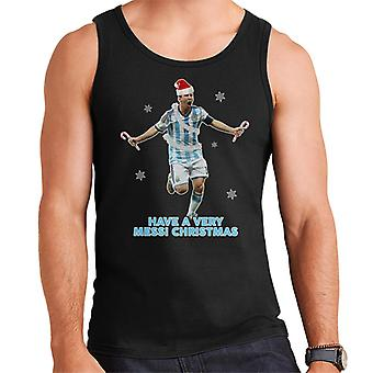 Have A Very Messi Christmas Men's Vest