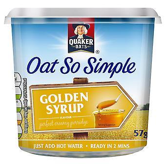 Quaker Oats So Simple Golden Syrup Porridge Pots