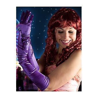 Handschoenen lange handschoenen paars