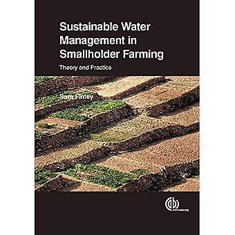 Hållbar vattenförvaltning inom småskaliga jordbruk: teori och praktik