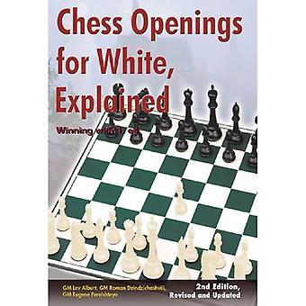 Aberturas de xadrez para branco, explicou: ganhar com 1. e4