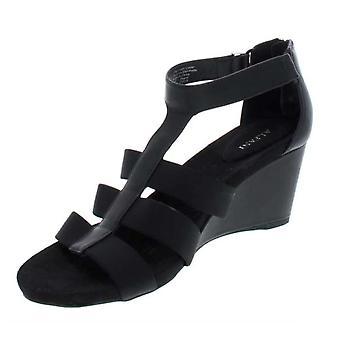 Alfani Womens Pearrl Open Toe Casual Strappy Sandals