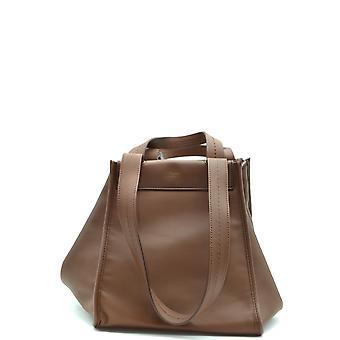 Max Mara Ezbc138003 Frauen's braun Leder Tasche