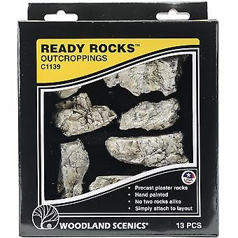 Klaar rotsen-Outcroppings 13/Pkg